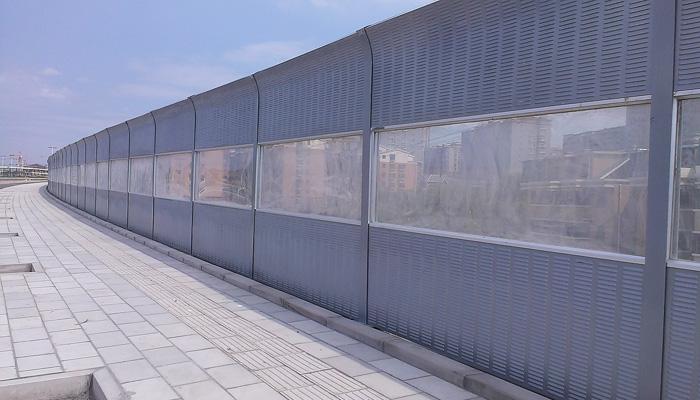 临汾市外环路声屏障案例